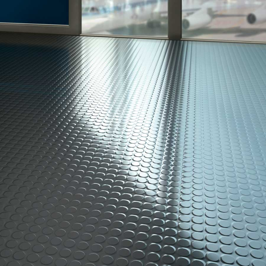rubber kitchen flooring - non slip rubber floor tiles for kitchens