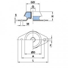 KPR Anti Vibration Mount | Standard Base