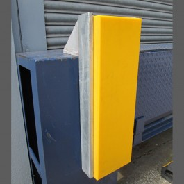 750mm Dock Bumper Application Example