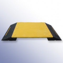 Anti-Slip Pedestrian Ramp 1560L x 880W x 125H  at Polymax