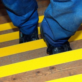 Anti-Slip Tape on Stairs