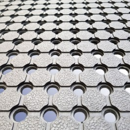 Close Up of Array Matting