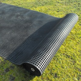 Rubber Grass Mat Rolls | Grass Matting Rolls | Polymax UK
