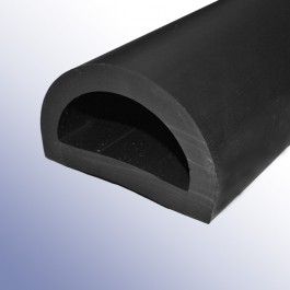 Black PVC D-Fenders at Polymax
