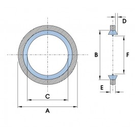 Bonded Seal Diagram