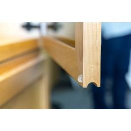 Polymax Polyurethane Rubber Feet Cabinet Situ