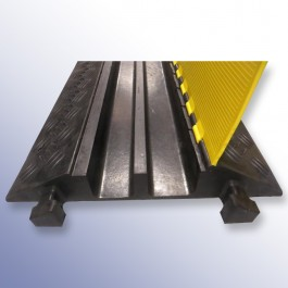 Cable Protector 900L x 615W x 100H (2 Tapered Channels, 84/92mm x 75mm, 3.1 Tonnes) at Polymax
