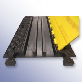 Cable Protector 970L x 590W x 80H (3 Channels, 55/70mm x 50mm, 6.1 Tonnes) at Polymax