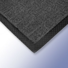 CARPET Entrance Mat Grey 600mm x 400mm x 13mm at Polymax