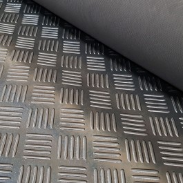 CHEK STD Matting Black 1200mm Wide x 5mm at Polymax