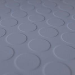 bathroom rubber floor tile in grey