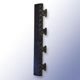 DIAMEX LOK Garage Tile Male Edge Black 500mm x 85mm x 14mm at Polymax
