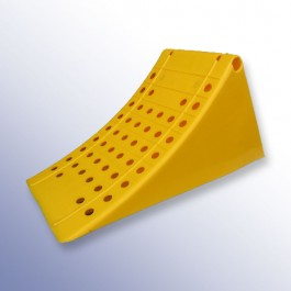 Din Approved Wheel Chock 460L x 220W x 200H  at Polymax
