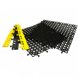 Polymax EASI LOK | PVC Interlocking Tile Edging