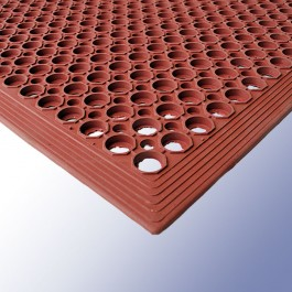 FIRMA Entrance Mat Red 1500mm x 915mm x 15mm at Polymax