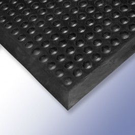 FLEXI Anti-Fatigue Mat Black 310mm x 610mm x 13mm at Polymax