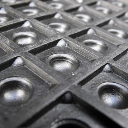 Under Side of Anti-Fatigue Mat