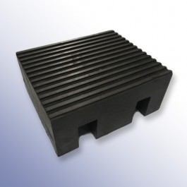 Heavy Duty Cable Cover Block Female 350L x 400W x 165H  at Polymax
