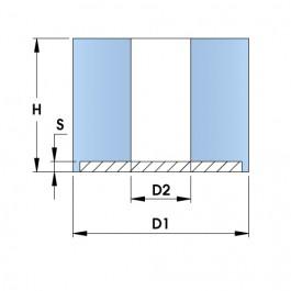 KPRB Mounts with Single Steel Plate