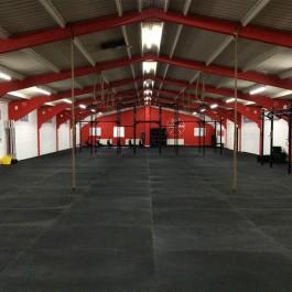 Power Tiles Installaed at CrossFit Wrexham