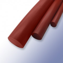 Silicone Cord Red Oxide 6.5mm 60ShA at Polymax