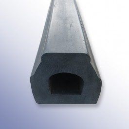 Rubber Extruded Kerb 2000L x 100W x 100H at Polymax