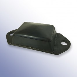 Steel Oval Tipper Pad Coated 153L x 62W x 40H at Polymax
