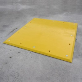 UHMWP Trailer Plate 1000L x 1000W x 20H  at Polymax