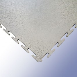 VIGOR Interlocking Morphic Tile Light Grey 500mm x 500mm x 7mm at Polymax