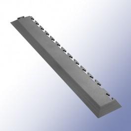 VIGOR Interlocking Tile Corner Dark Grey 585mm x 75mm x 7mm at Polymax