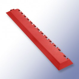 VIGOR Interlocking Tile Corner Red 585mm x 75mm x 7mm at Polymax