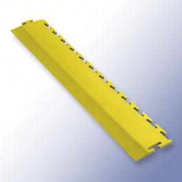 VIGOR Interlocking Tile Edge Yellow 500mm x 75mm x 7mm at Polymax