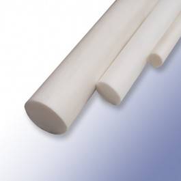 Silicone Solid Cord White 6.35mm 60ShA at Polymax