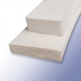 White Silicone Sponge Strips at Polymax