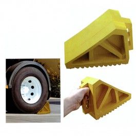 Yellow Wheel Chock Example