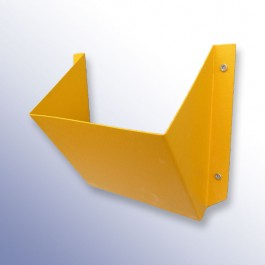 Yellow Wheel Chock Holder 170L x 333W x 155H  at Polymax