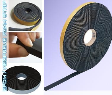 Foam Strips Neoprene Epdm Foam Rubber Strips Polymax Uk