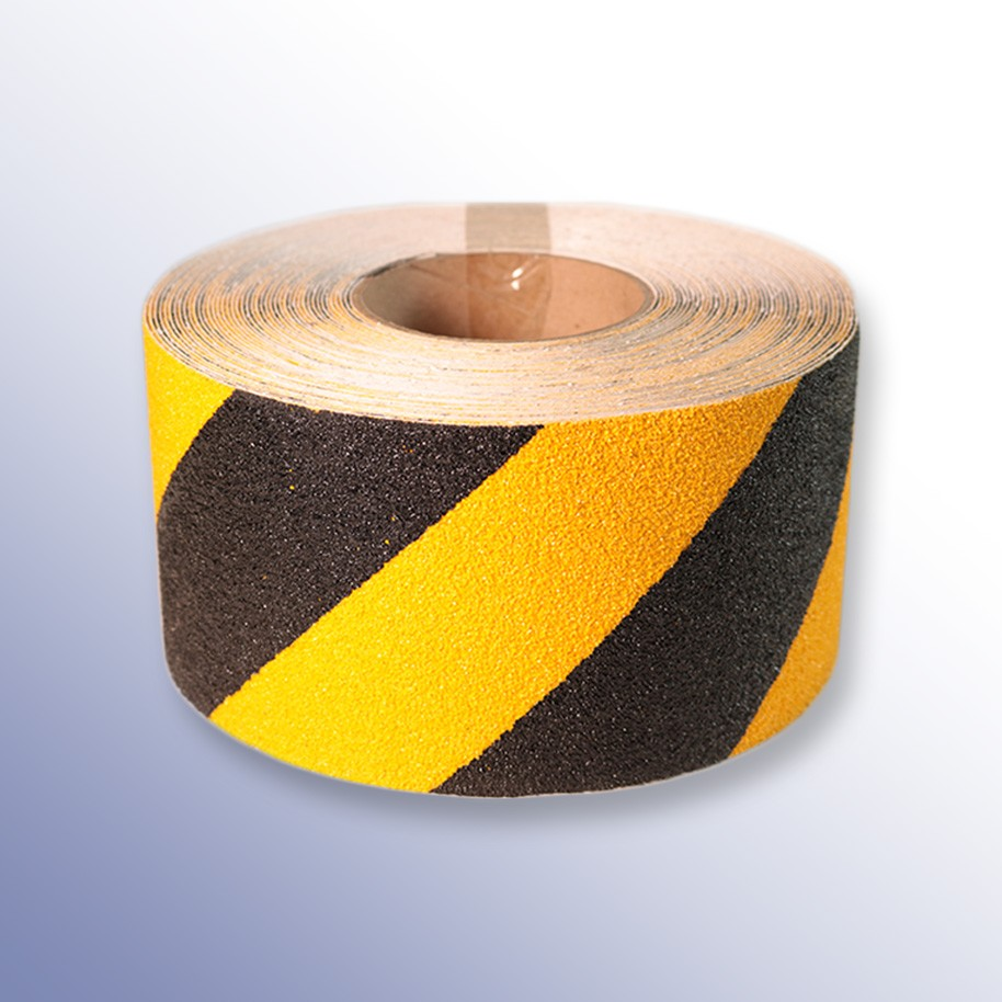 Anti Slip Medum Coarse Tape Black Yellow