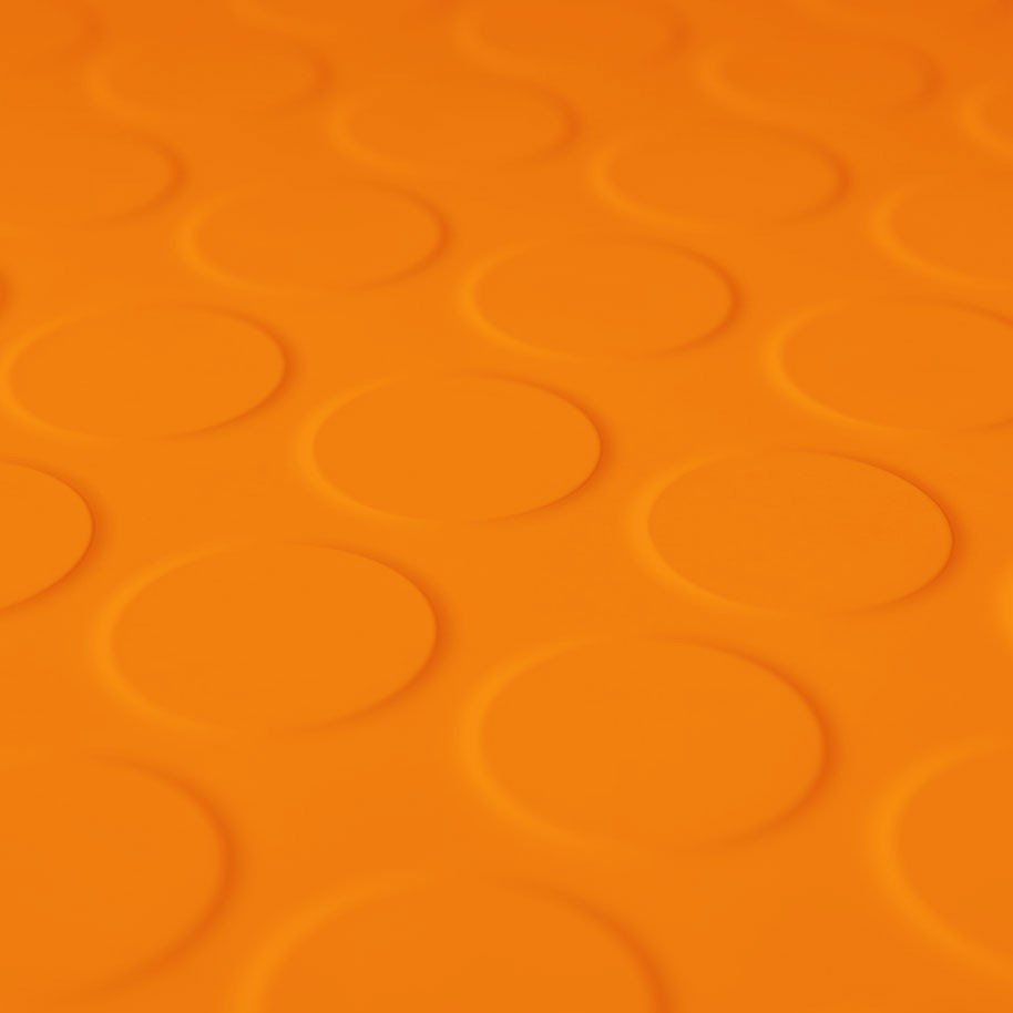 CIRCA PRO Tile Burnt Orange 500mm x 500mm x 2.7mm