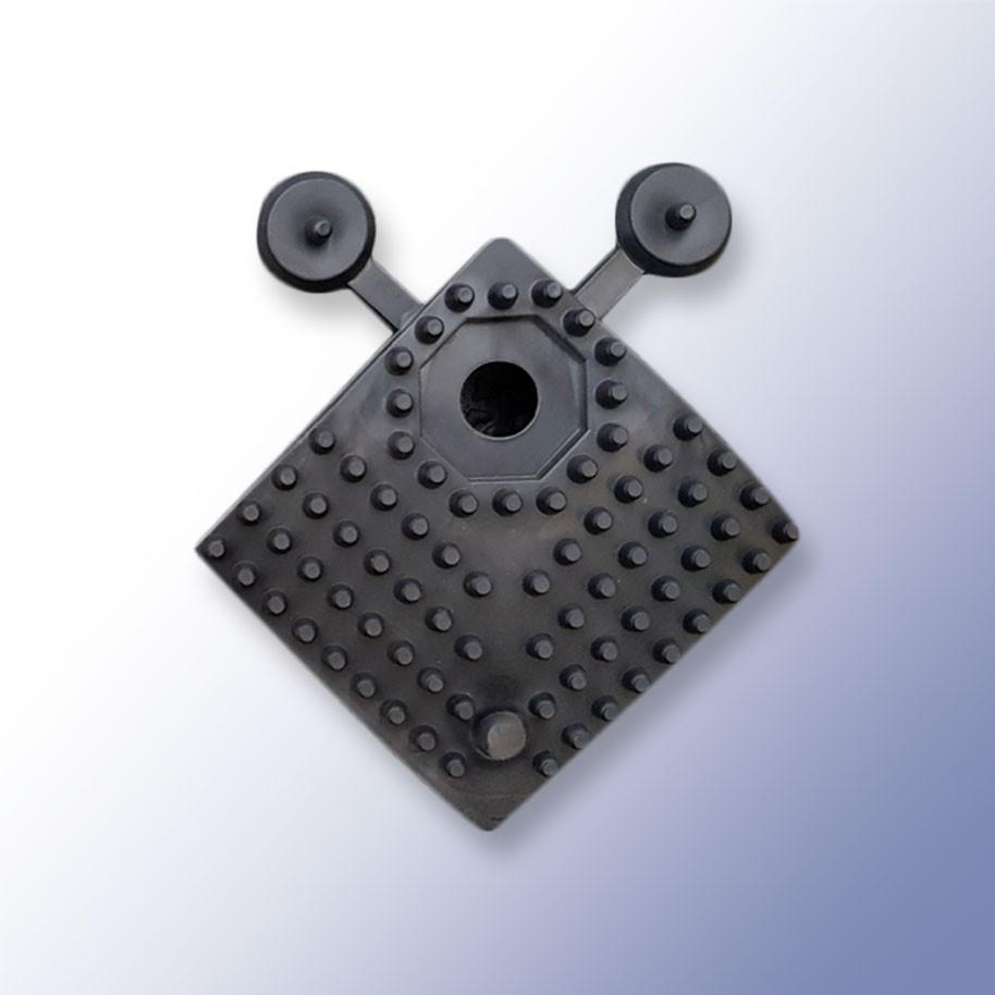 EASI LOK Corner Black 500mm x 60mm x 16mm
