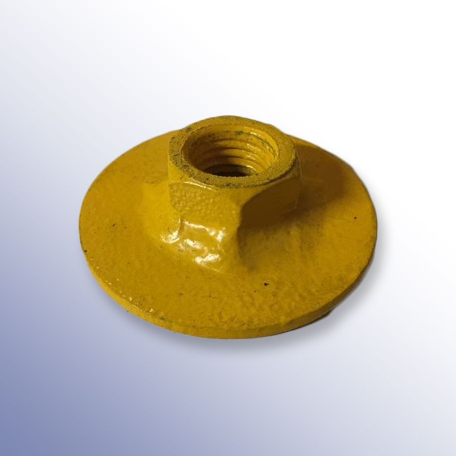 M16 Nut Wheel Chock Insert 50mm Dia