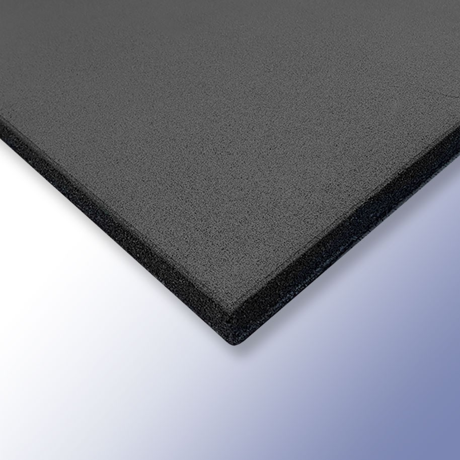 PLAY Safety Tiles Black 1000mm x 1000mm x 30mm