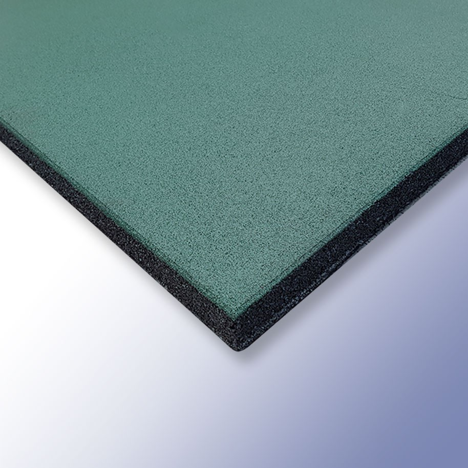 PLAY Safety Tiles Green 1000mm x 1000mm x 30mm