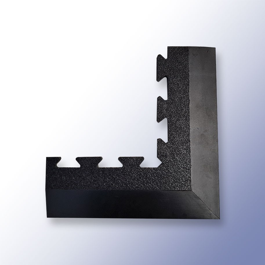 POWER Interlocking Mat Corner 413mm x 120mm x 17mm