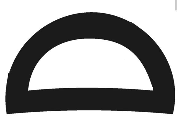 Black PVC D-Fender 6000L x 76W x 47H