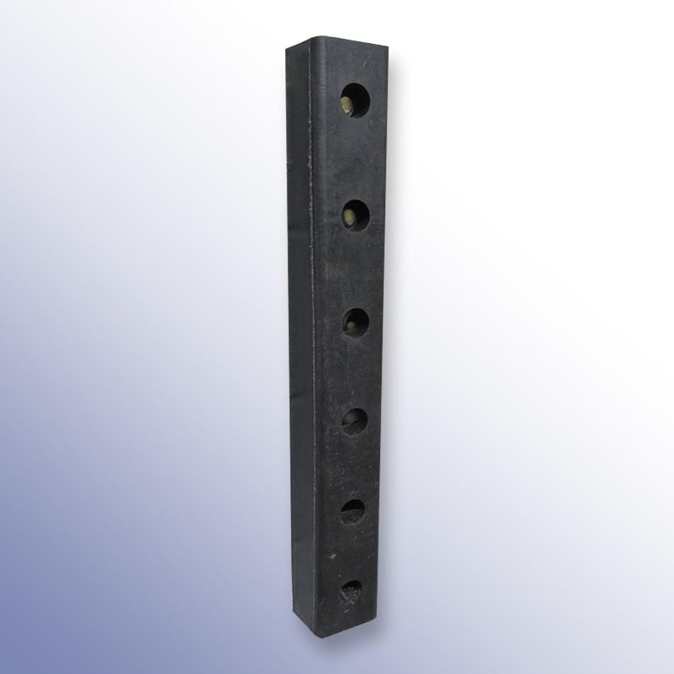 Rectangular Dock Bumper TPX 750L x 115W x 75H
