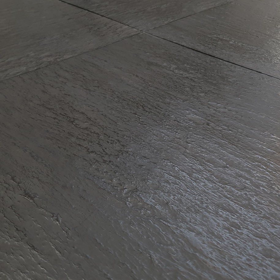 SLATE Effect Tile Black 500mm x 500mm x 3.5mm