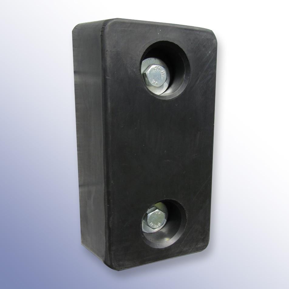 Trapezium Dock Bumper 2 Fixings NRSBR 450L x 250W x 100H