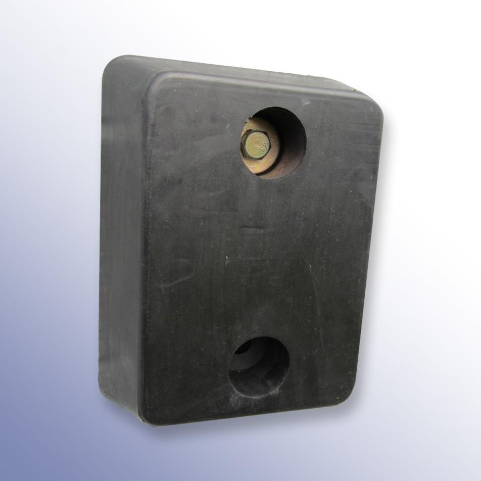 Trapezium Dock Bumper 2 Fixings TPX 330L x 250W x 100H