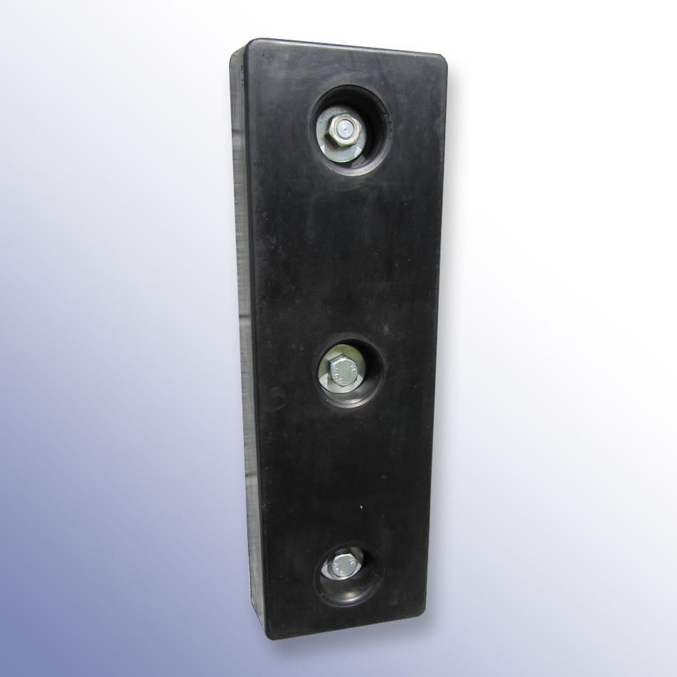 Trapezium Dock Bumper 3 Fixings NRSBR 750L x 250W x 100H